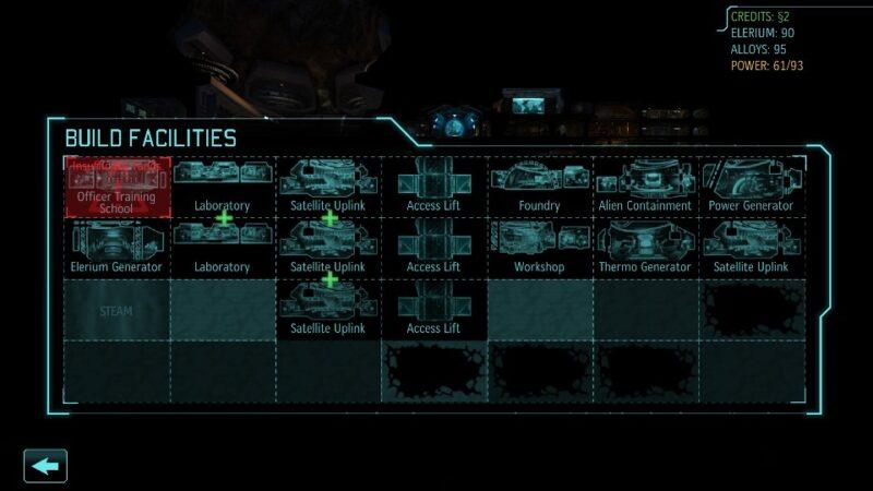 Visão do grid da base