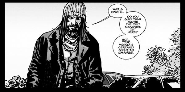 Jesus nas HQs de The Walking Dead