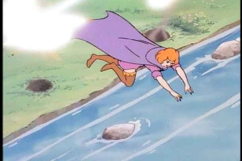 Sheila mergulha no riacho fugindo dos tiros