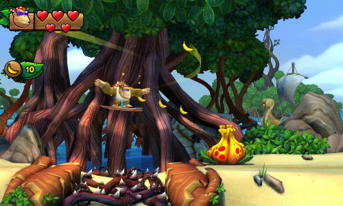 Donkey Kong Country: Tropical Freeze, imagem