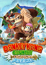 Donkey Kong Country: Tropical Freeze, pôster