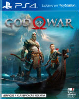 God of War, PS4, capa do jogo