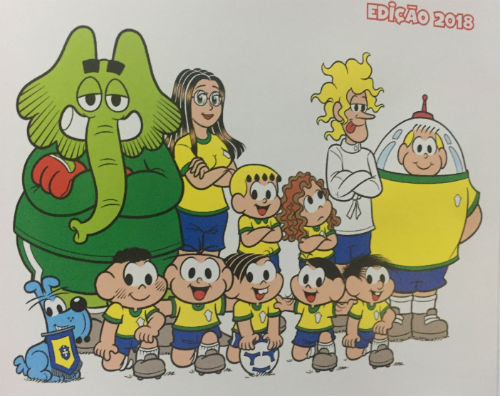 Turma da Mônica - Todas as Copas do Mundo, imagem
