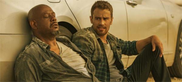 Forest Whitaker e The James no filme Proxima Parada Apocalipse da Netflix