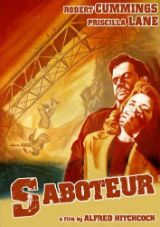 Sabotador, cartaz