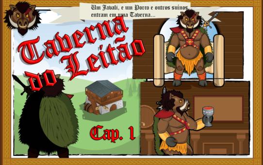 Bem vindos à Taverna do Leitão!