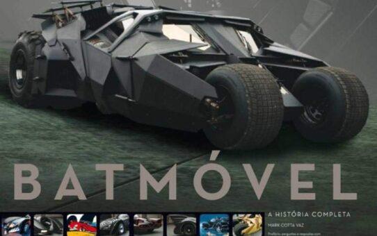 Resenha de Livro | Batmóvel - A História Completa